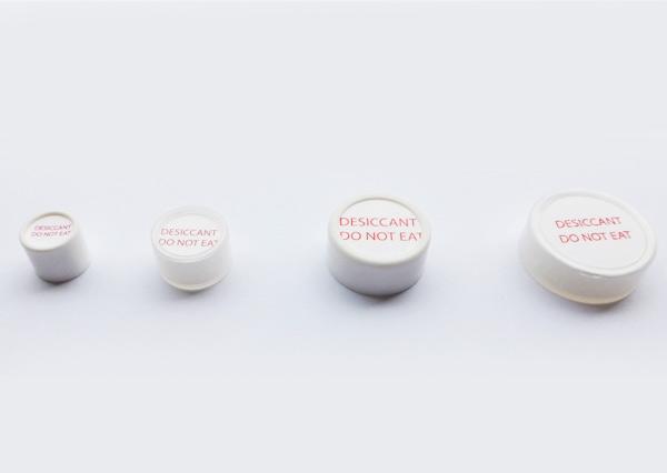 Silica gel capsules