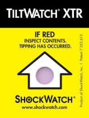 Indicadores de Vuelco - Tiltwatch