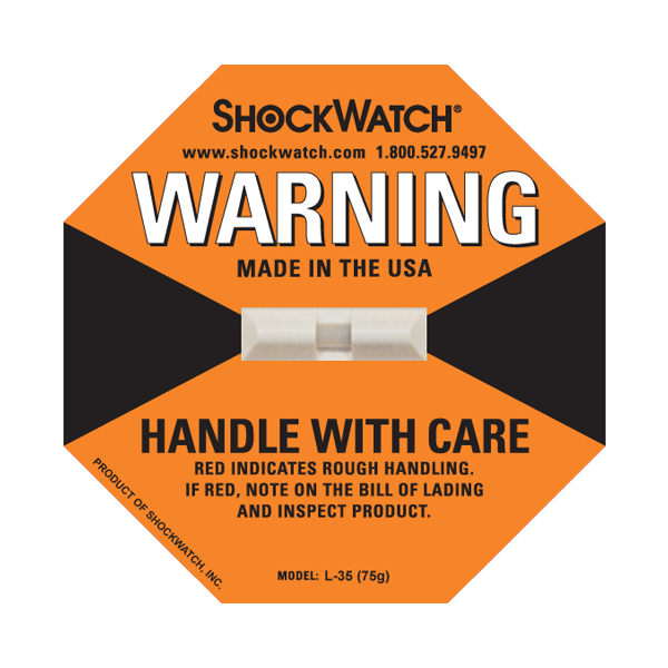 Impact indicator Shockwatch