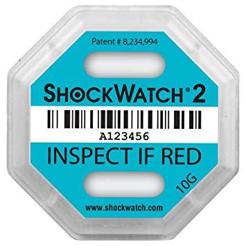 Indicador de impacto Shockwatch 2 comprar