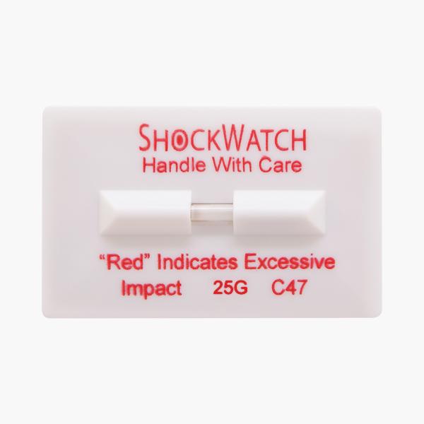 Indicador de impacto Shockwatch Clip