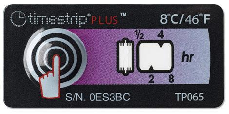 Indicador de temperatura Timestrip PLUS