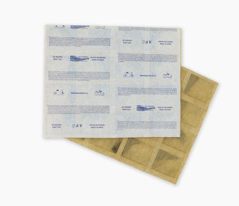 Hojas absorbentes de etileno
