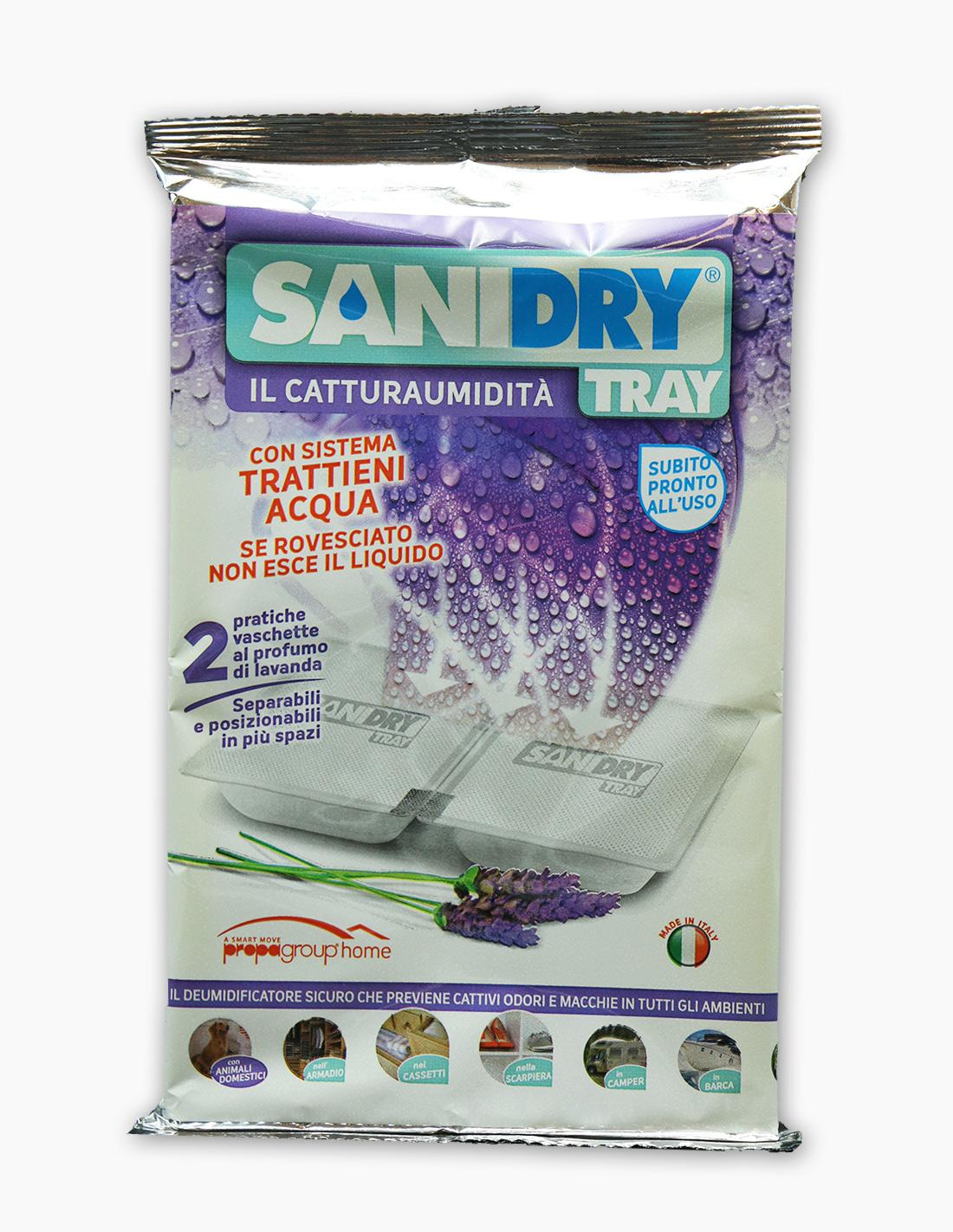 Desecante Hogar Sanidry Tray Lavanda comprar online