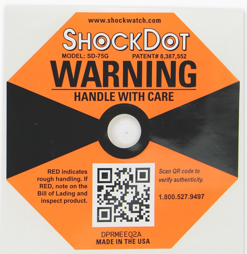 Indicador de impacto ShockDot