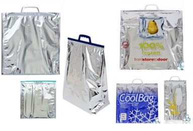 Isothermal bags and envelopes