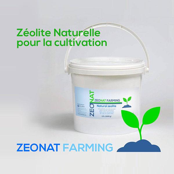 Zéolite Naturelle pour la cultivation ZEONAT FARMING