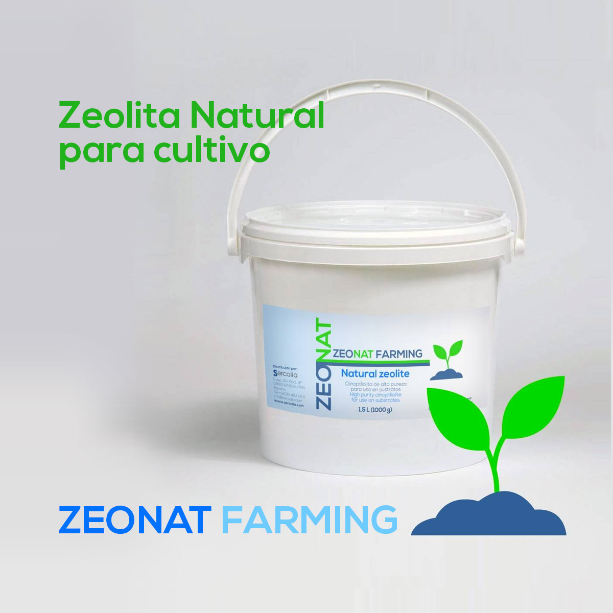 Zeolita natural Zeonat Farming