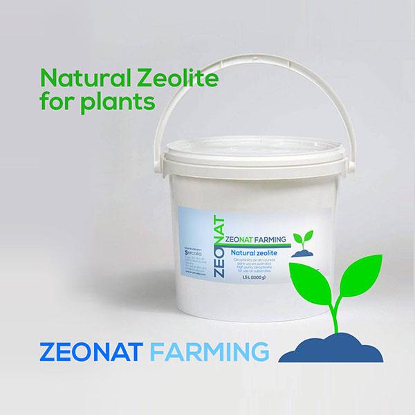 ZEONAT FARMING Natural Zeolite for plants