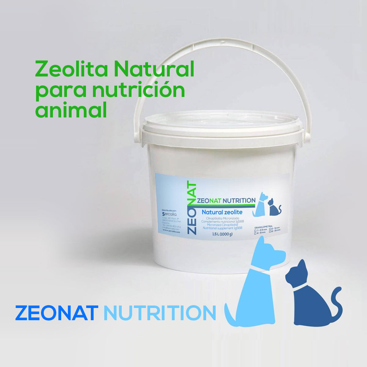 zeolita natural Zeonat Nutrition
