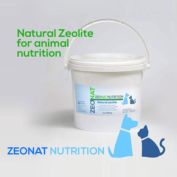 Natural Zeolite for animal nutrition ZEONAT NUTRITION