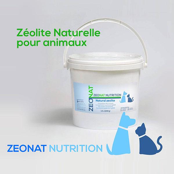 Zéolite Naturelle pour animaux ZEONAT NUTRITION