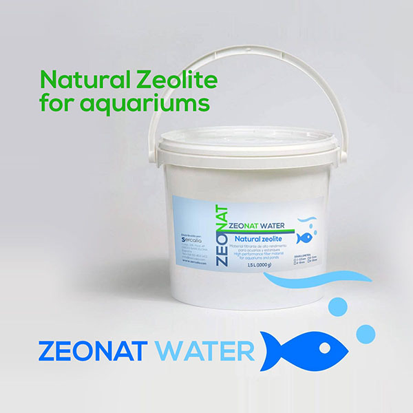 Zéolite Naturelle pour aquariums ZEONAT WATER
