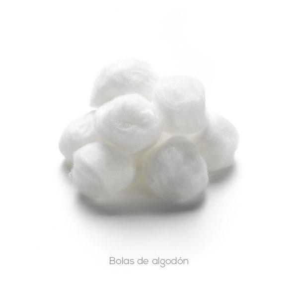 Bolas y bobinas de algodón